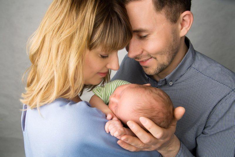 Familienfotos München mit Baby