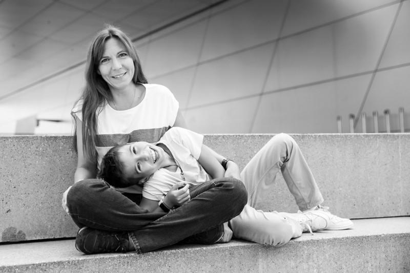 Familienfotos München Mutter und Kind