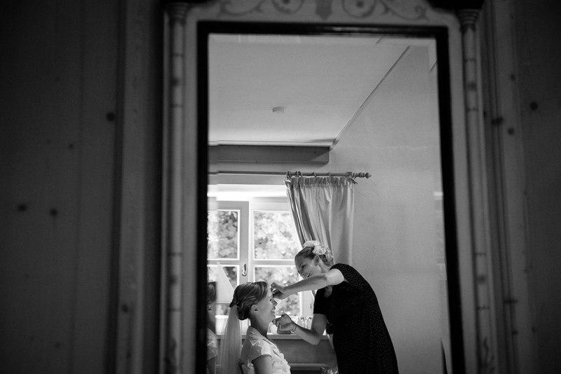 Hochzeitsfotos Vorbereitungen