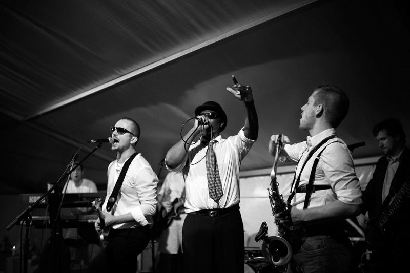 Hochzeitsreportage München Feier mit Band