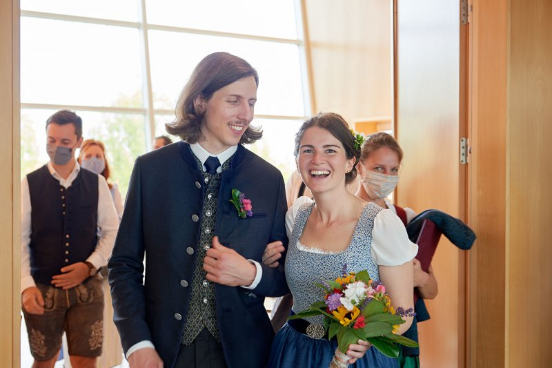 Hochzeitsreportage München Standesamt