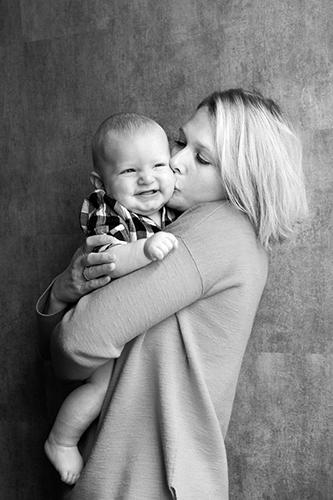 Portraitfoto Mutter mit Kind