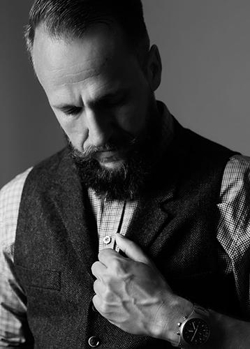 Männerportrait im Studio