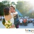 Hochzeitsfoto Englischer Garten