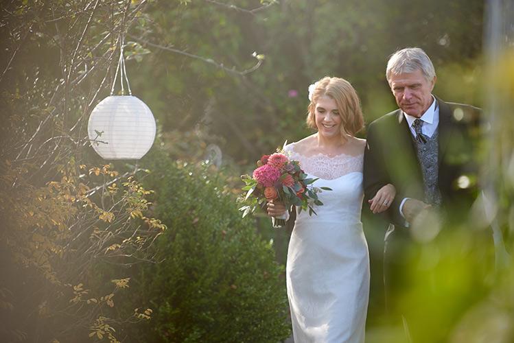 Hochzeitsfoto braut mit vater