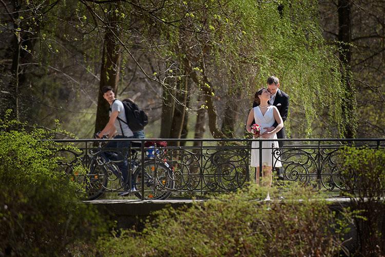 Hochzeitsfotograf Englischer Garten