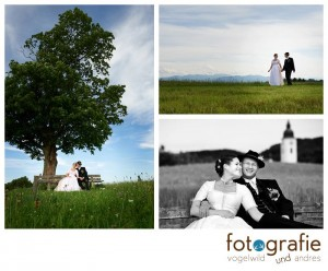 Hochzeitsfotos bayerische Hochzeit