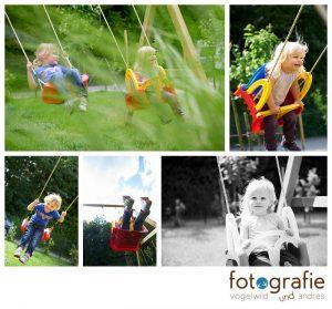 Kinderfotos München auf dem Spielplatz
