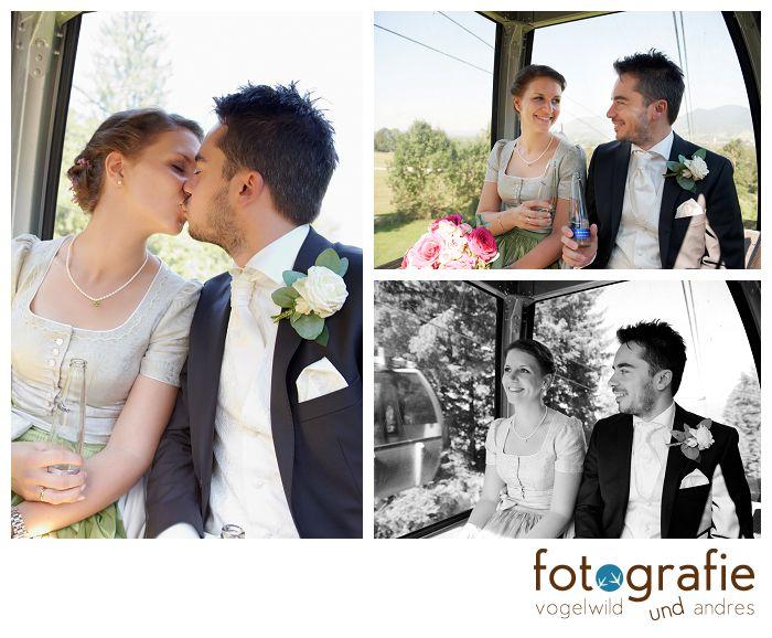 Brautpaar in Gondel