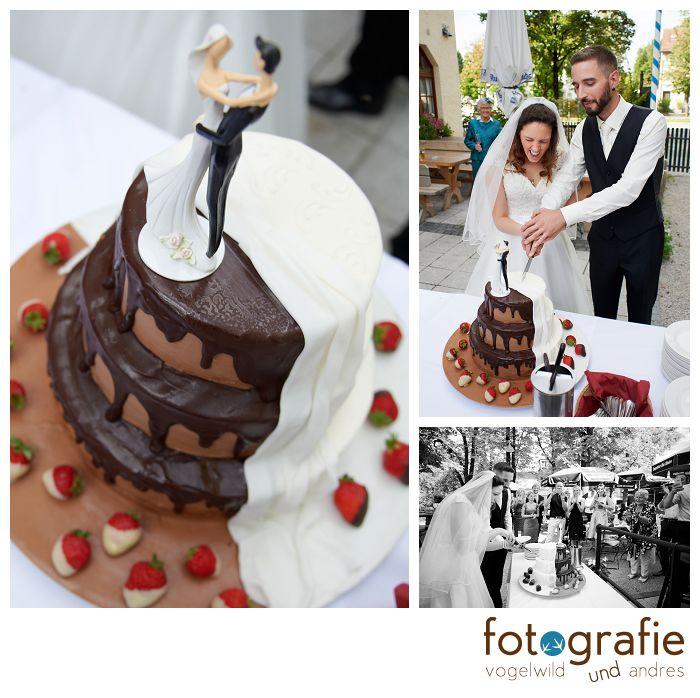 Hochzeitsfotos Torte