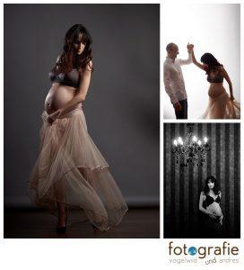 Schwangerschaftsfotos im Studio