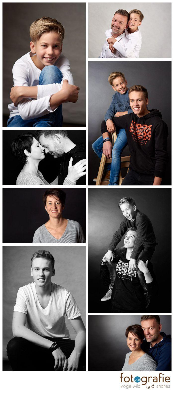 Geschwisterfotos im Studio
