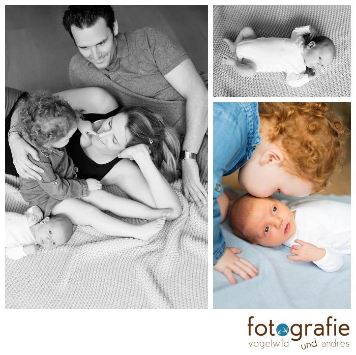 Babyfotos Zuhause