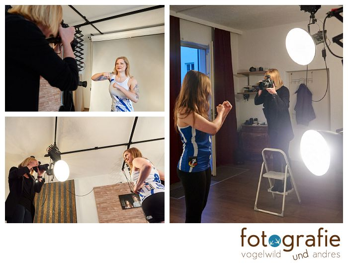 Fotostudio München Making Of