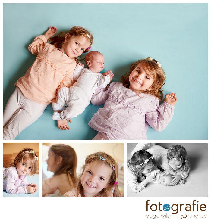 Kinderfotos zu Hause