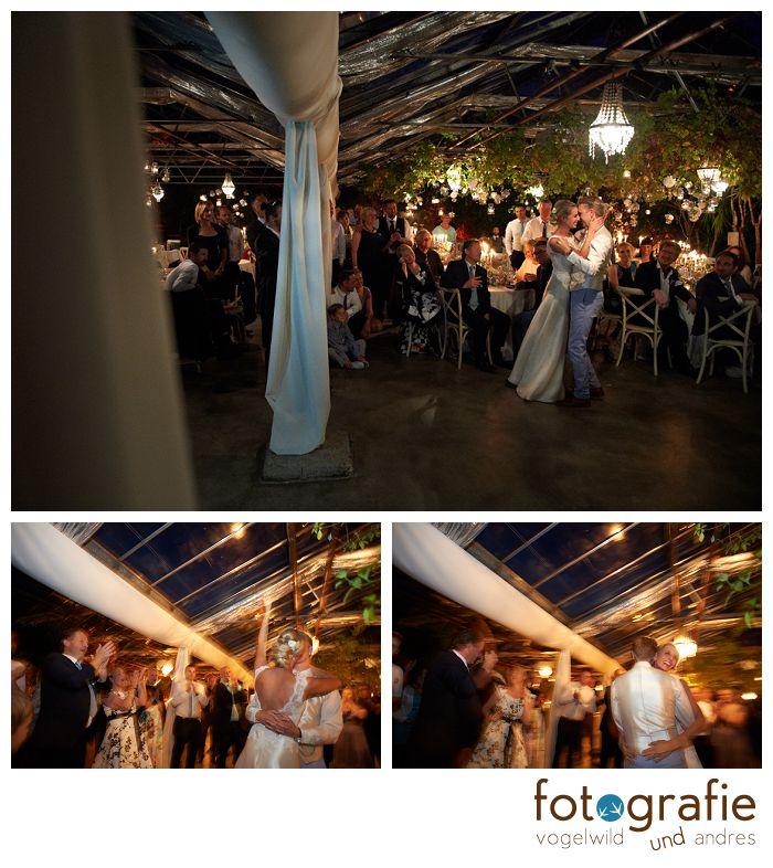 Hochzeitsfotos alte Gärtnerei - Brauttanz