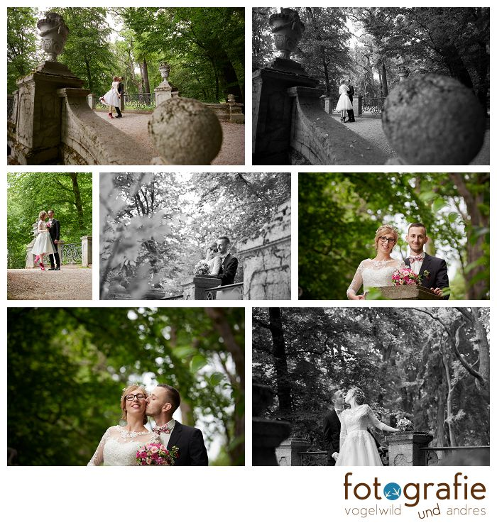 Hochzeitsfotos im Nymphenburger Schloßpark