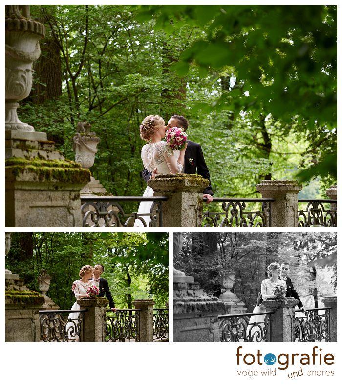 Brautpaarportraits im Nyphenburger Schloßpark